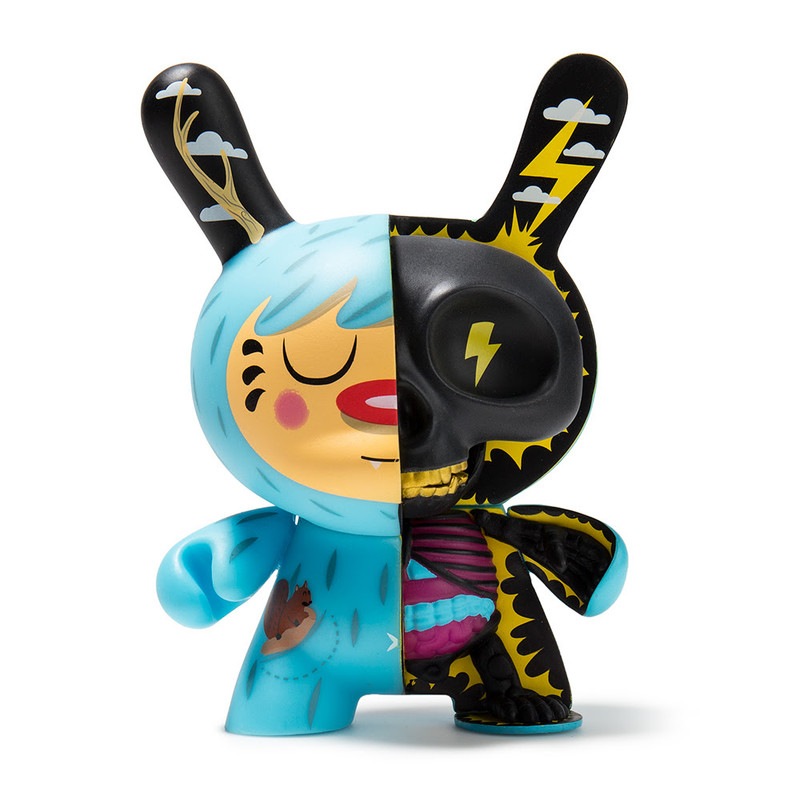Dunny 5 inch : Mr. Watt Half Ray
