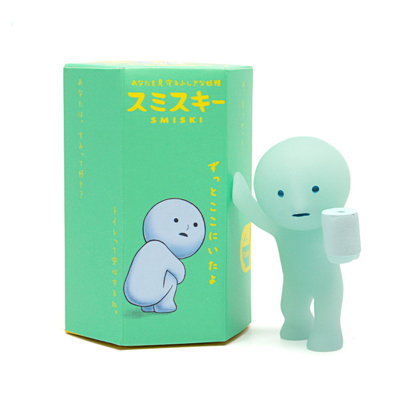 Smiski Glow in the Dark Toilet Series : Blind Box