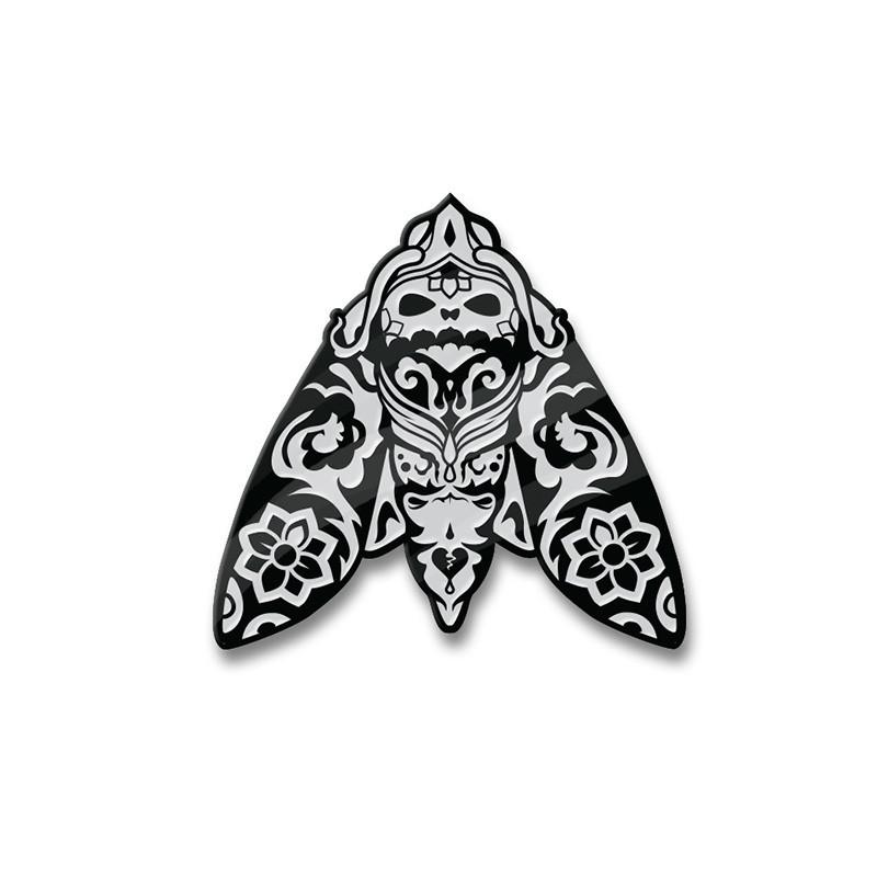 Morimoth Silver Enamel Pin