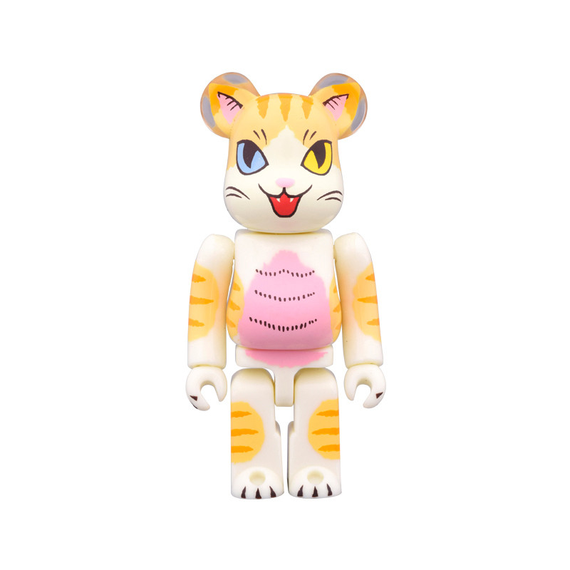 Be@rbrick 100% : Negora Odd Eyes