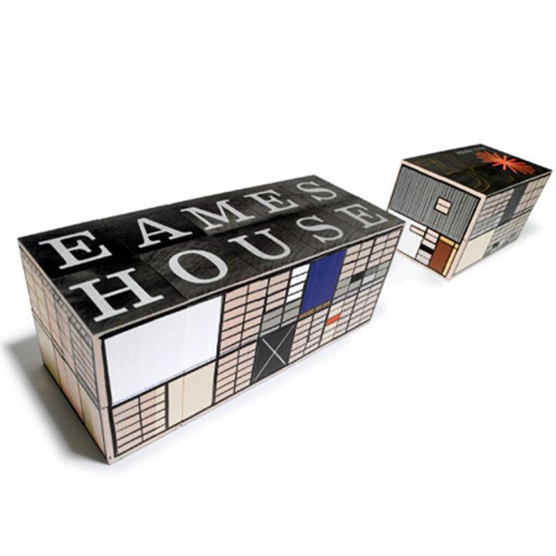 Eames House and Studio Blocks