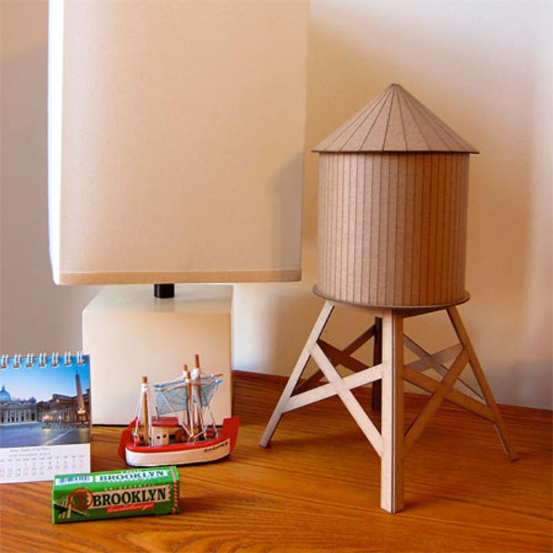 Model Water Tower Kit: Medium