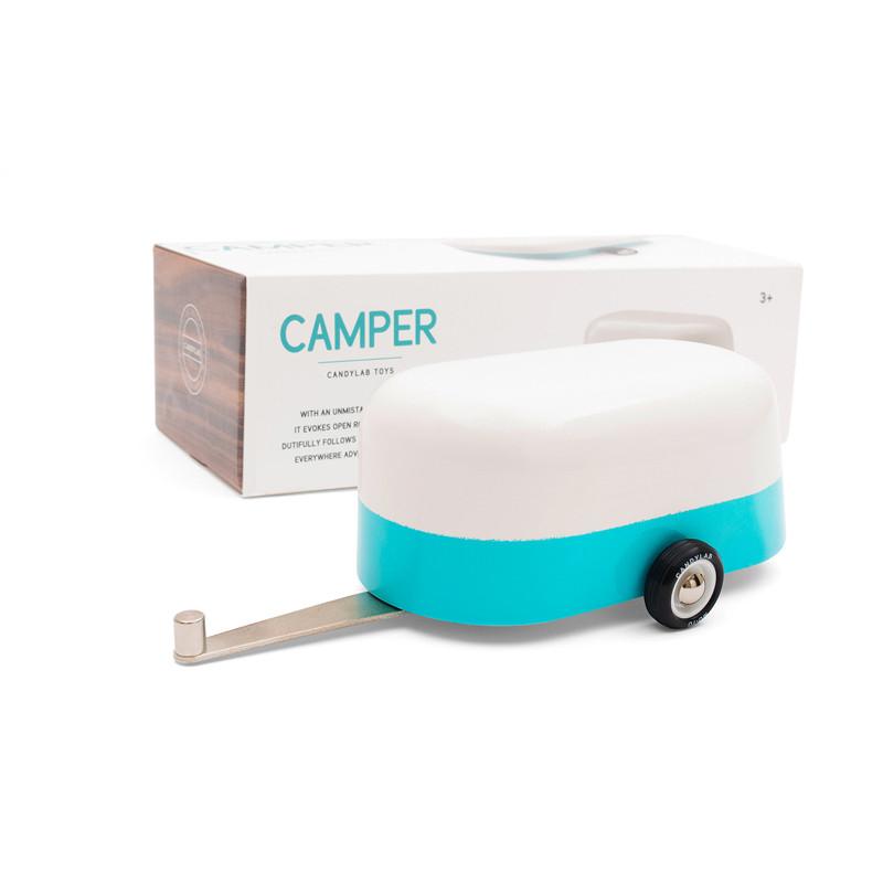 Blue Camper
