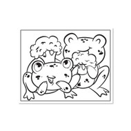 Crayola Coloring Wall Graphic: Frogs Broccoli