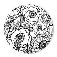 Begsonland Flower Garden Doodle Decal