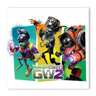 Plants vs. Zombies Garden Warfare 2: GW2 Z-Mech + Super Brainz + Captain Deadbeard Graphic