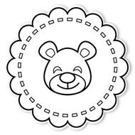 Caleb Gray Studio Coloring: Teddy Bear