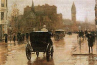 Columbus Avenue by Hassam