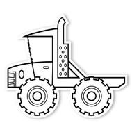 Caleb Gray Studio Coloring: Monster Truck Flatbed