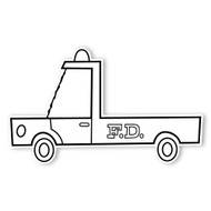 Caleb Gray Studio Coloring: Fire Department Truck