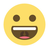 Emoji One Wall Icon Grinning Face