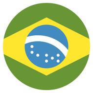 Emoji One Wall Icon Brazil Flag