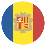 Emoji One Wall Icon Andorra Flag