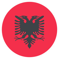 Emoji One Wall Icon Albania Flag
