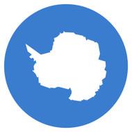 Emoji One Wall Icon Antarctica Flag