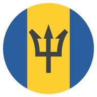 Emoji One Wall Icon Barbados Flag