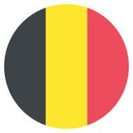 Emoji One Wall Icon Belgium Flag