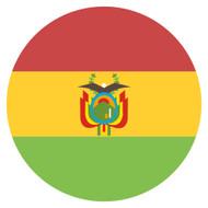 Emoji One Wall Icon Bolivia Flag