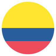 Emoji One Wall Icon Colombia Flag