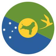 Emoji One Wall Icon Christmas Island Flag