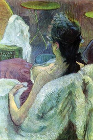 Resting Model by Toulouse Lautrec