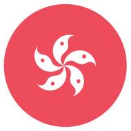 Emoji One Wall Icon Hong Kong Flag