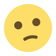 Emoji One Wall Icon Confused Face