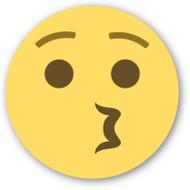 Emoji One Wall Icon Kissing Face