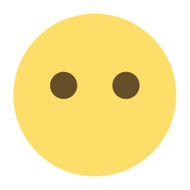 Emoji One Wall Icon Face Without Mouth