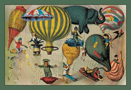 Balloonists as Symbols of Nationalism