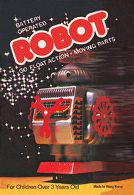 Battery Operated Robot Go Float Action