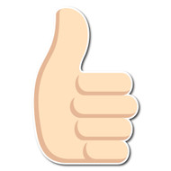 Thumbs Up Sign Tone 1