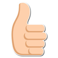 Thumbs Up Sign Tone 2