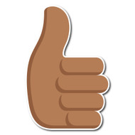 Thumbs Up Sign Tone 4