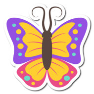 Emoji One Animals & Nature Wall Icon: Butterfly