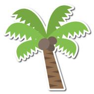 Emoji One Animals & Nature Wall Icon: Palm Tree