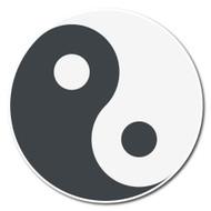 Emoji One Symbols Wall Icon: Yin Yang