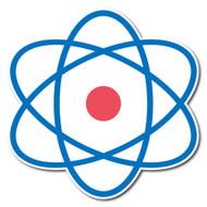 Emoji One Symbols Wall Icon: Atom Symbol