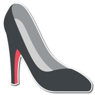 Emoji One Smileys & People Wall Icon: High-Heeled Shoe