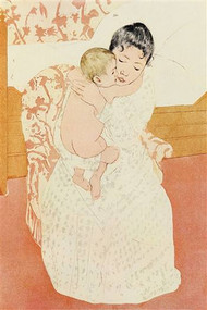 Motherly Tenderness by Mary Cassatt