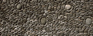Standard Photo Board: Rock Pattern Wall Indonesian Temple - AMER