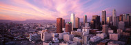 Extra Large Photo Board: Los Angeles Dusk Skyline - AMER