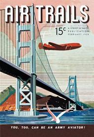 Air Trails Magazine Cover Golden Gate Bridge