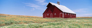 Extra Large Photo Board: Barn in a Field Genesee - AMER - INDY