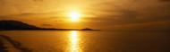 Extra Large Photo Board: Sunset over the Sea Ko Samui - AMER - INDY