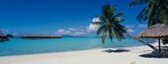 Standard Photo Board: Beach Umbrella Moana Beach Bora Bora - AMER