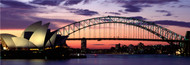 Standard Photo Board: Sydney Harbour Bridge At Sunset - AMER - INDY