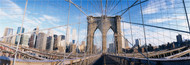 Extra Large Photo Board: Railings Brooklyn Bridge - AMER