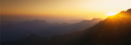 Extra Large Photo Board: Sunset Sequoia National Park CA - AMER