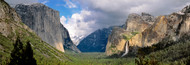 Extra Large Photo Board: Yosemite National Park with Clouds - AMER